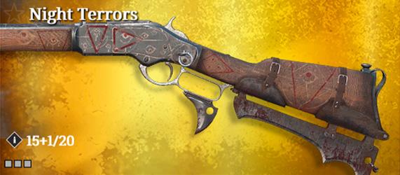 Легендарное оружие в Hunt: Showdown. Night Terrors для Winfield M1973 Talon