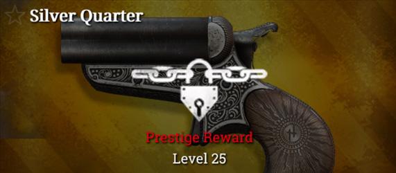 Легендарное оружие в Hunt: Showdown. Silver Quarter для Quad Derringer