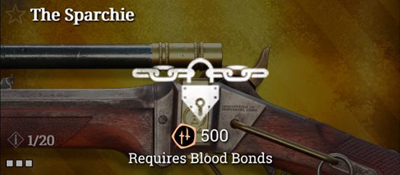 Легендарное оружие в Hunt: Showdown. The Sparchie для Sparks LRR Sniper