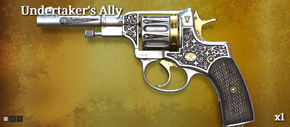 Легендарное оружие в Hunt: Showdown. Undertaker`s Ally для Nagant M1895