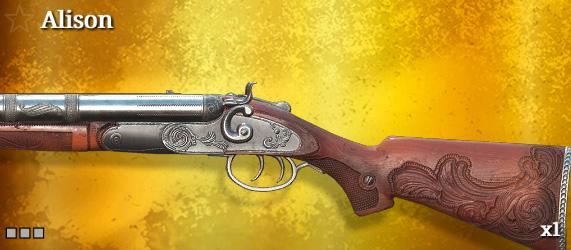Легендарное оружие в Hunt: Showdown. Alison для Caldwell Rival 78