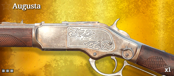 Легендарное оружие в Hunt: Showdown. Augusta для Winfield M1873C