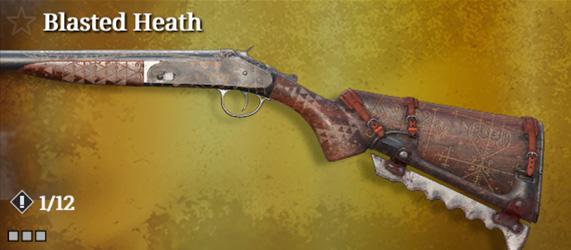 Легендарное оружие в Hunt: Showdown. Blasted Heath для Romero 77 Talon