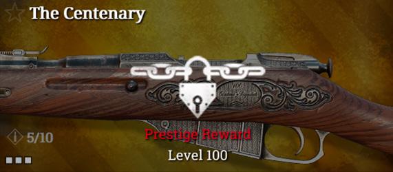 Легендарное оружие в Hunt: Showdown. The Centenary для Mosin-Nagant M1891
