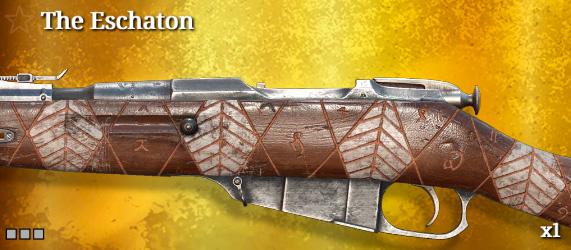 Легендарное оружие в Hunt: Showdown. The Eschaton для Mosin-Nagant M1891