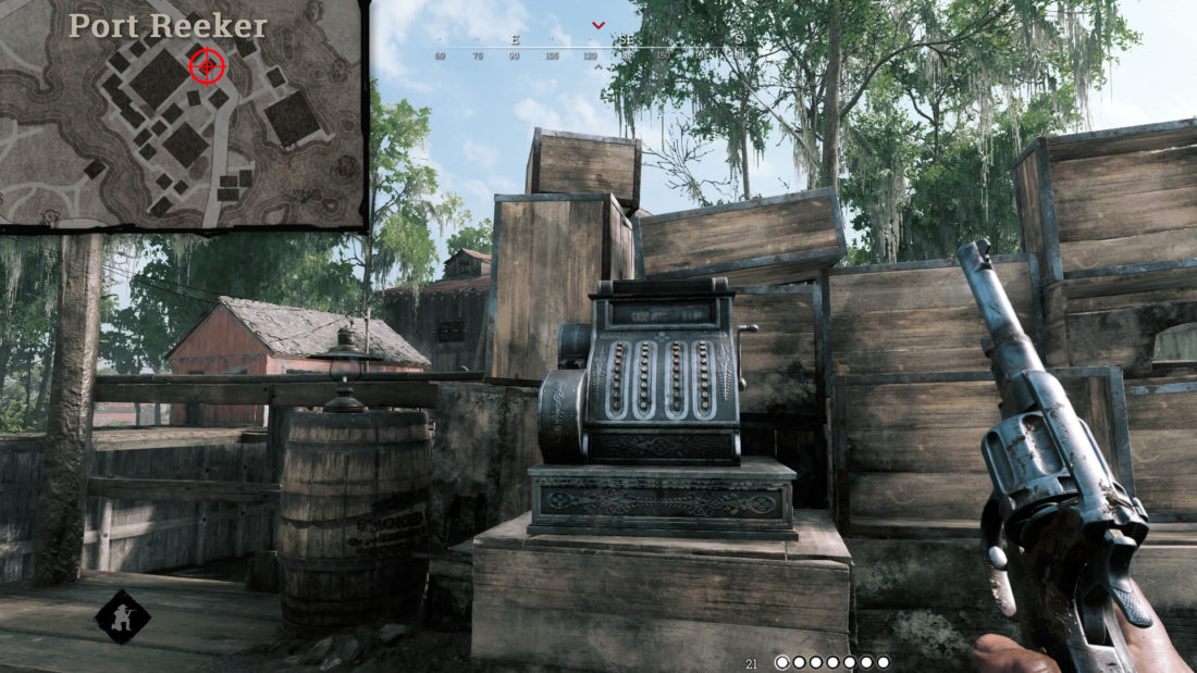 Кассовый аппарат на Port Reeker