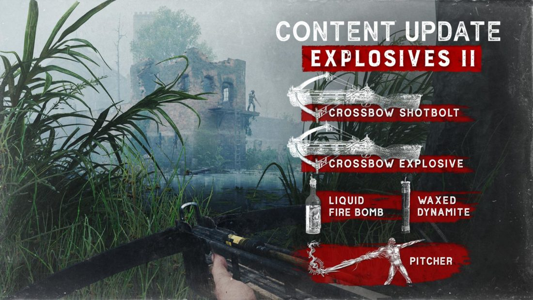 Контентное обновление Explosives II для Hunt: Showdown на XBOX
