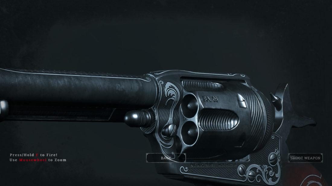 Легендарный скин Vanguard для револьвера Caldwell Pax