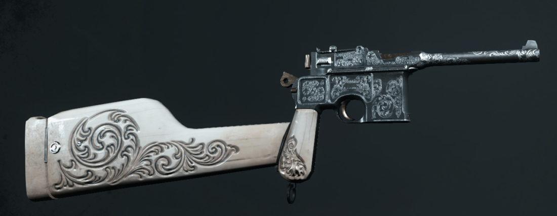Легендарное оружие Bedlam Lullaby (Dolch 96 Precision) в Hunt: Showdown