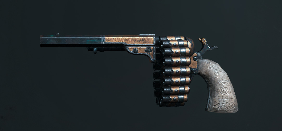 Легендарное оружие The Benefactor (Caldwell Conversion Chain Pistol) в Hunt: Showdown