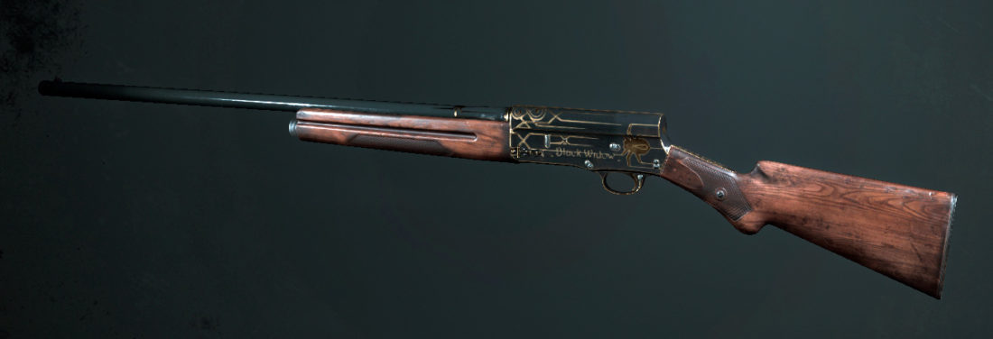 Легендарное оружие Black Widow (Crown & King Auto-5) в Hunt: Showdown
