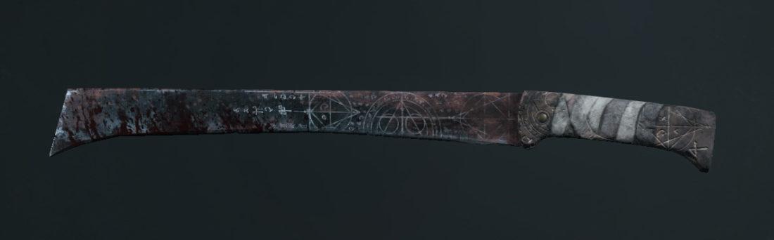 Легендарное оружие Black Wight (мачете) в Hunt: Showdown