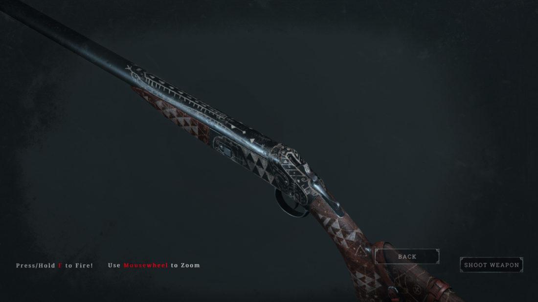 Легендарное оружие Blasted Heath (Romero 77 Talon) в Hunt: Showdown