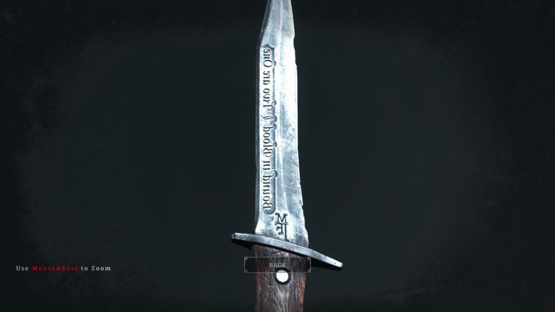 Легендарное оружие Blood Oath (нож) в Hunt: Showdown
