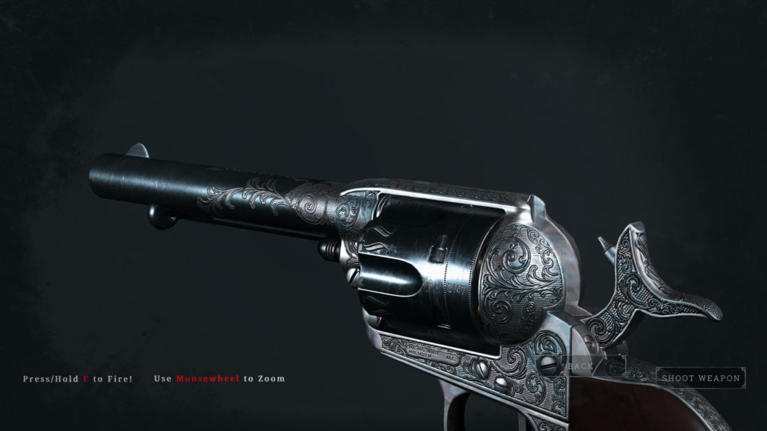 Легендарное оружие Certain Victory (Caldwell Pax) в Hunt: Showdown