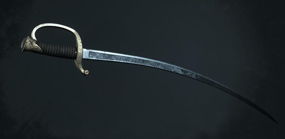 Легендарное оружие Cypress Thorn (Cavalry Saber) в Hunt: Showdown