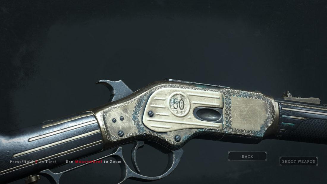 Легендарное оружие Fifty Laurels (Winfield M1873) в Hunt: Showdown
