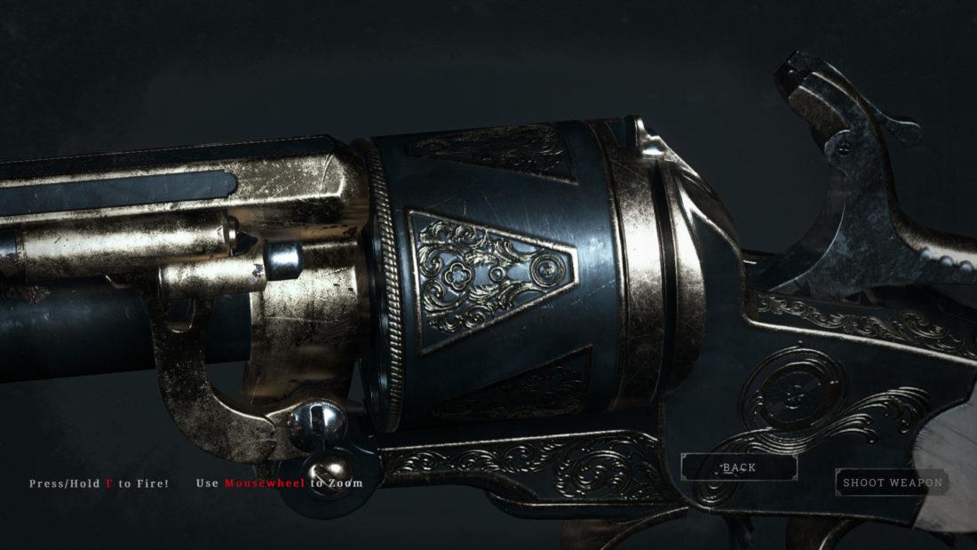 Легендарное оружие Brass Flower (LeMat Mark II) в Hunt: Showdown