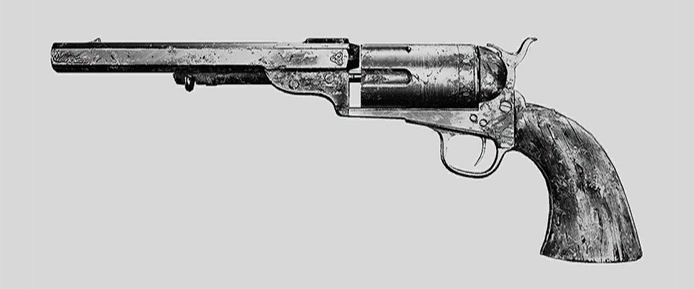 """Револьвер Caldwell Conversion Uppercut. Изображение из """"Книги оружия"""""""