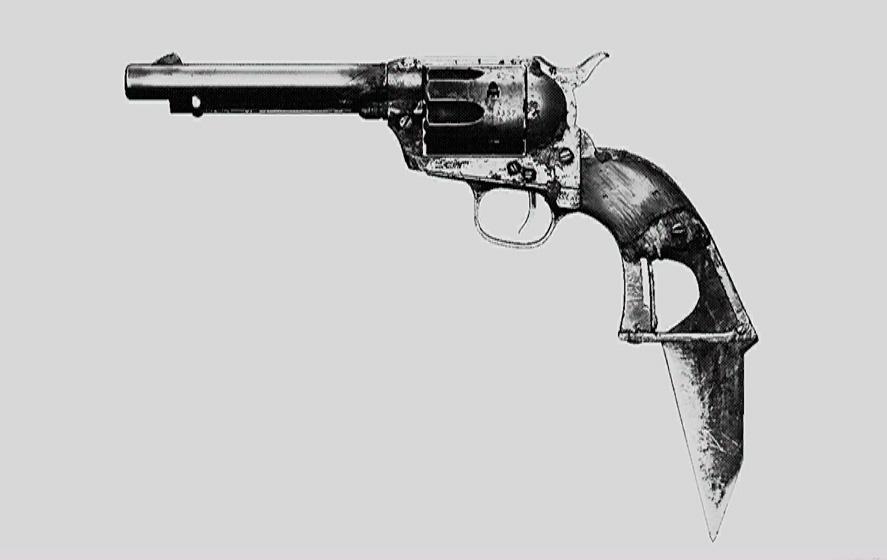"""Револьвер Caldwell Pax Claw. Изображение из """"Книги оружия"""""""