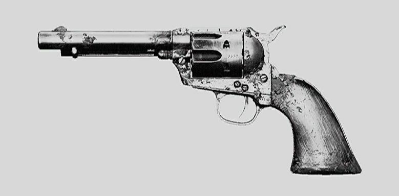 """Револьвер Caldwell Pax. Изображение из """"Книги оружия"""""""