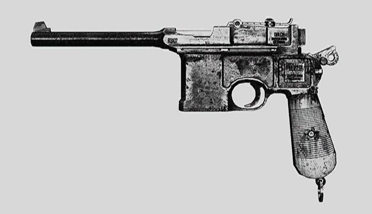 """Пистолет Dolch 96 в Hunt: Showdown. Изображение из """"Книги оружия"""""""