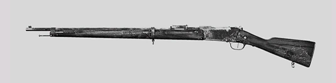 "Винтовка Lebel 1886 в Hunt: Showdown. Изображение из ""Книги оружия"""