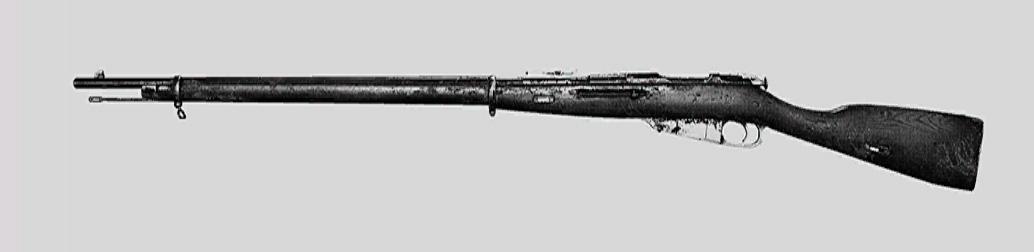 "Винтовка Mosin-Nagant M1891 в Hunt: Showdown. Изображение из ""Книги оружия"""