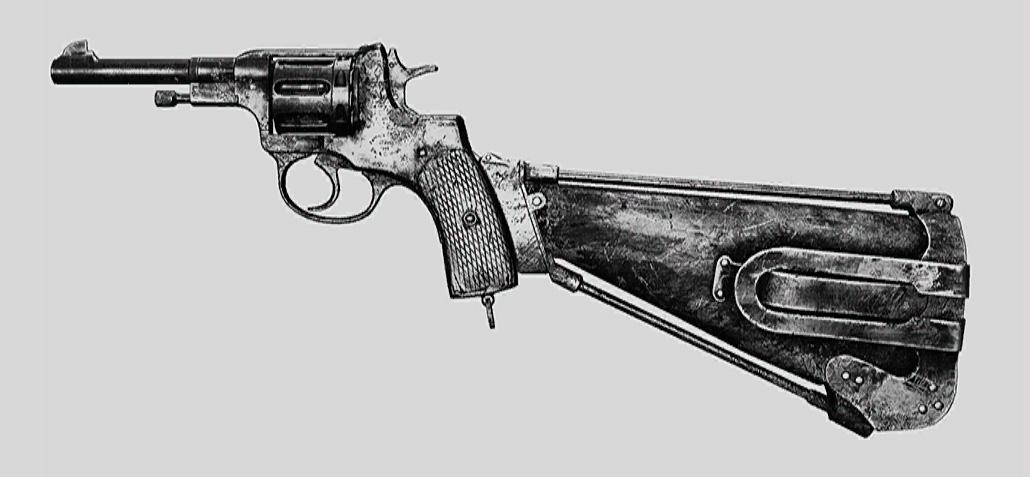 """Револьвер Nagant M1895 Precision в Hunt: Showdown. Изображение из """"Книги оружия"""""""