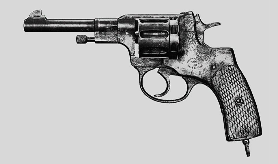 """Револьвер Nagant M1895 в Hunt: Showdown. Изображение из """"Книги оружия"""""""