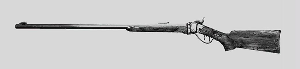 """Винтовка Sparks LRR в Hunt: Showdown. Изображение из """"Книги оружия"""""""
