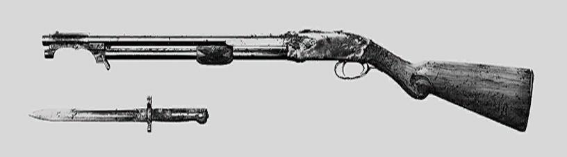 """Дробовик Specter 1882 Bayonet в Hunt: Showdown. Изображение из """"Книги оружия"""""""