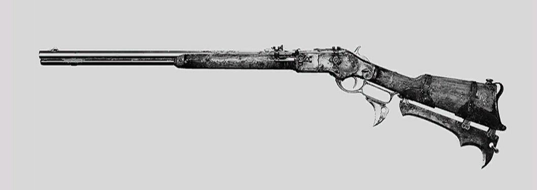 """Винтовка Winfield M1873 Talon в Hunt: Showdown. Изображение из """"Книги оружия"""""""