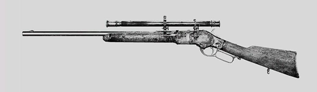 "Винтовка Winfield M1873C Marksman в Hunt: Showdown. Изображение из ""Книги оружия"""