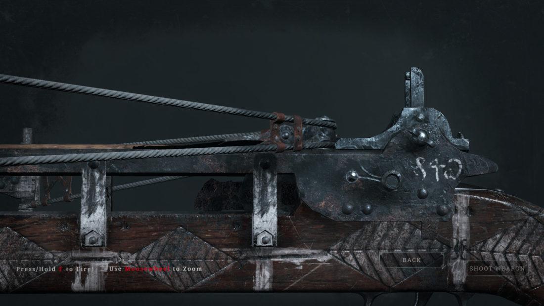 Легендарное оружие Jack o`Diamonds (Crossbow) в Hunt: Showdown