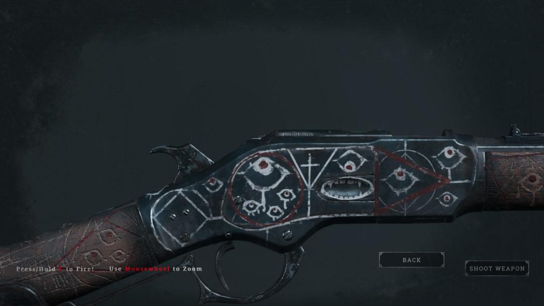 Легендарное оружие Night Terrors (Winfield M1973 Talon) в Hunt: Showdown