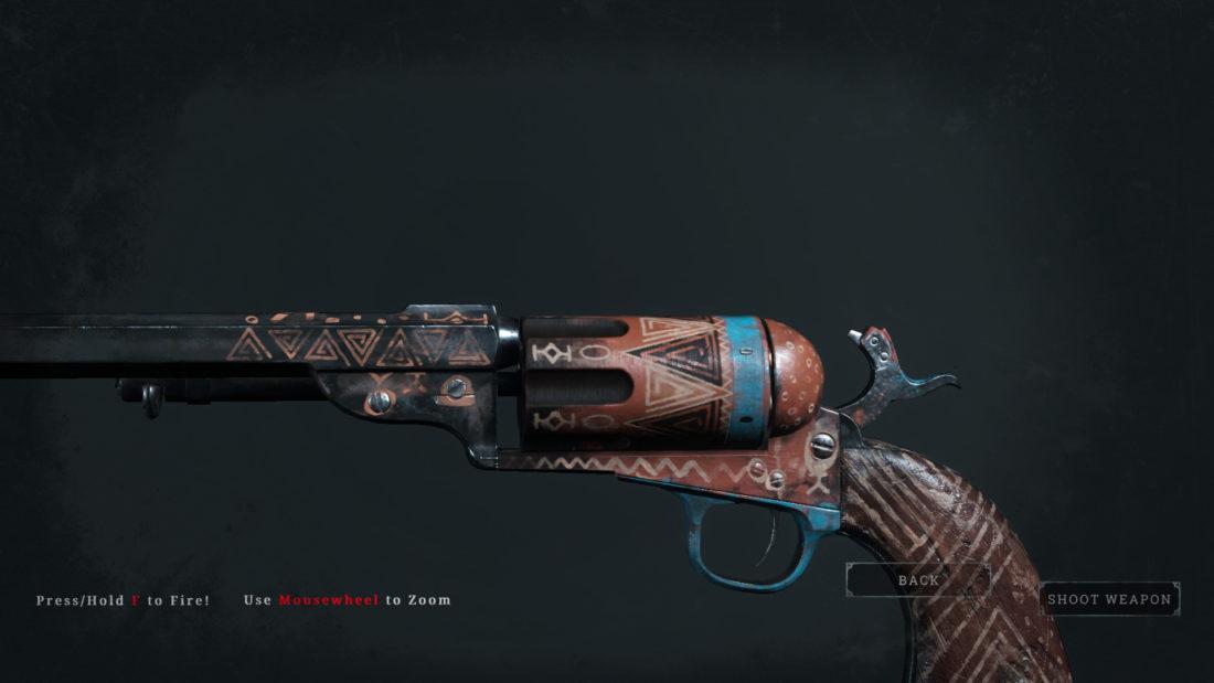 Легендарное оружие Rancor (Caldwell Conversion Uppercut) в Hunt: Showdown