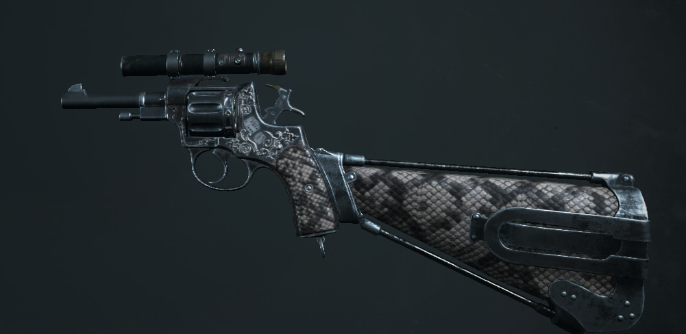 Легендарное оружие Rattlesnake (Nagant M1895 Deadeye) в Hunt: Showdown