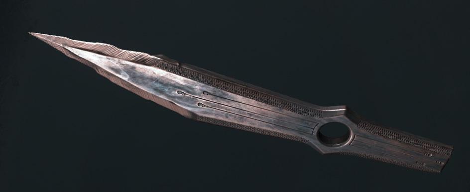 Легендарное оружие Sideshow Judge (метательные ножи) в Hunt: Showdown