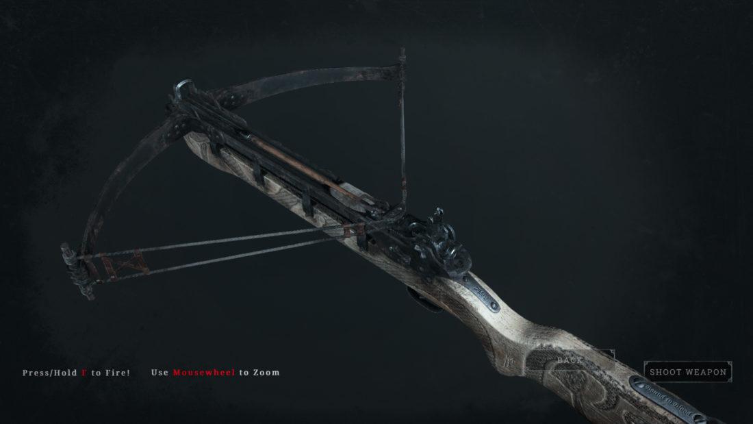 Легендарное оружие Snake Seer (Crossbow) в Hunt: Showdown