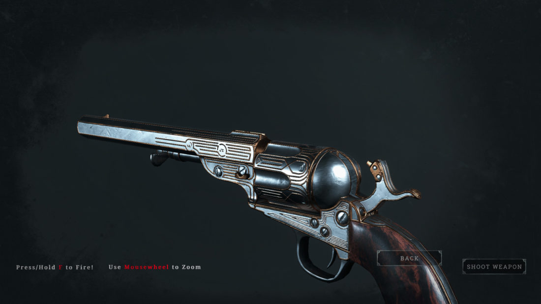 Легендарное оружие Spite (Caldwell Conversion Pistol) в Hunt: Showdown