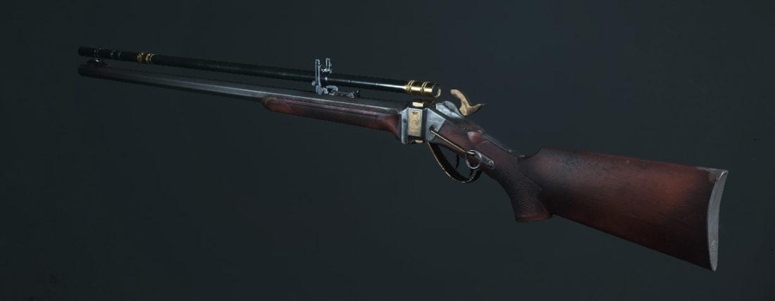 Легендарное оружие The Sparchie (Sparks LRR Sniper) в Hunt: Showdown