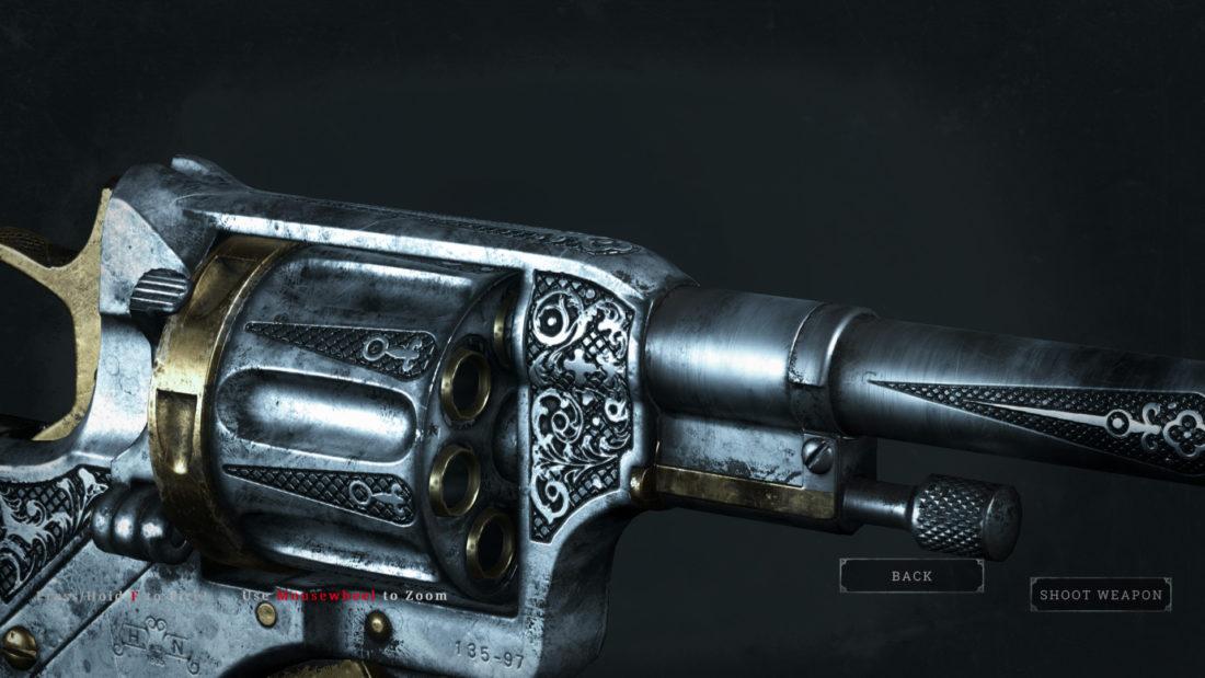 Легендарное оружие Undertaker`s Ally (Nagant M1895) в Hunt: Showdown