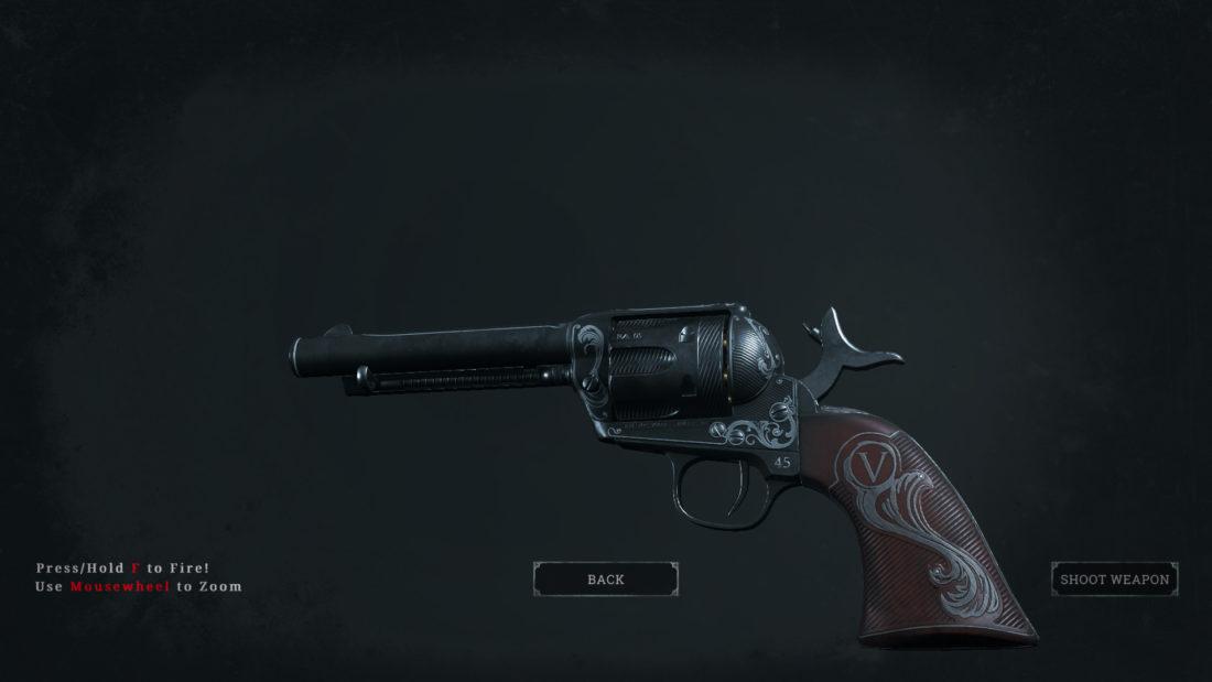 Легендарное оружие Vanguard (Caldwell Pax) в Hunt: Showdown