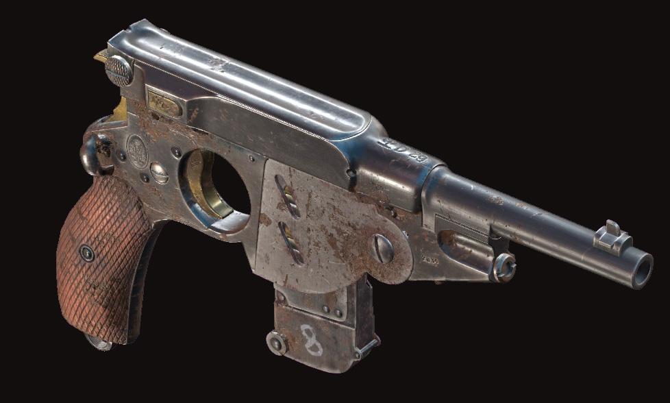 Пистолет Bornheim No. 3 Extended