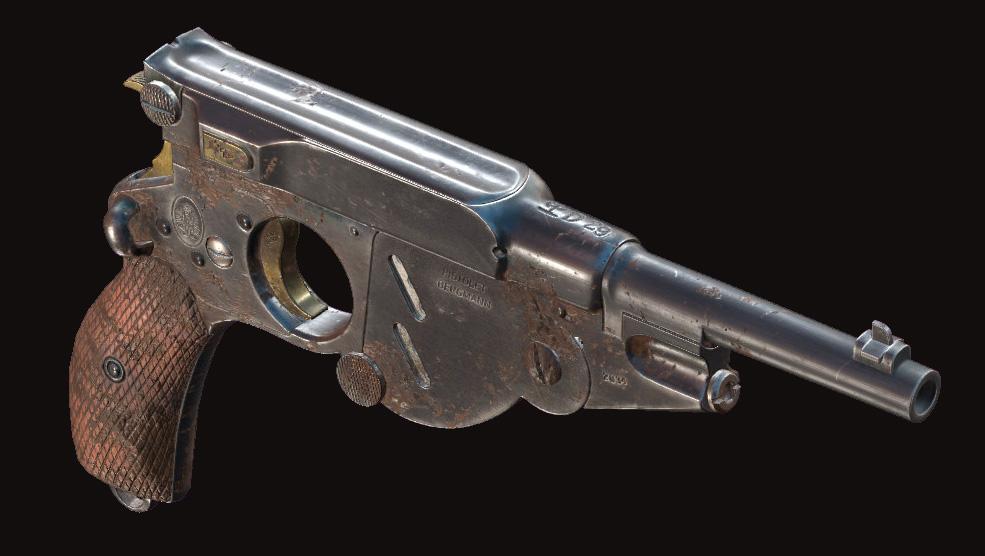 Пистолет Bornheim No. 3