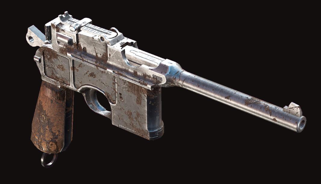 Пистолет Dolch 96 в Hunt: Showdown