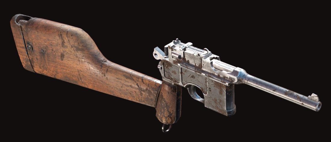 Пистолет Dolch 96 Precision в Hunt: Showdown