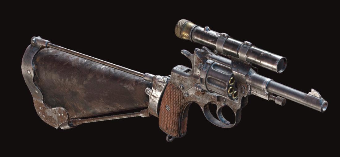 Револьвер Nagant M1895 Deadeye в Hunt: Showdown