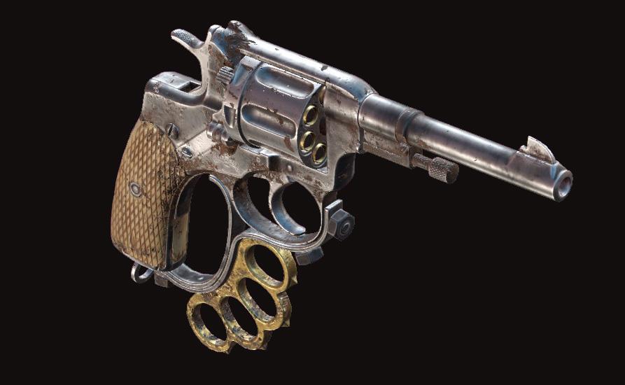 Револьвер Nagant M1895 Officer Brawler в Hunt: Showdown